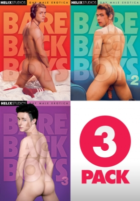 Bareback Boys 3 pack