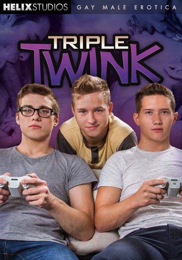 Triple Twink DVD Cover